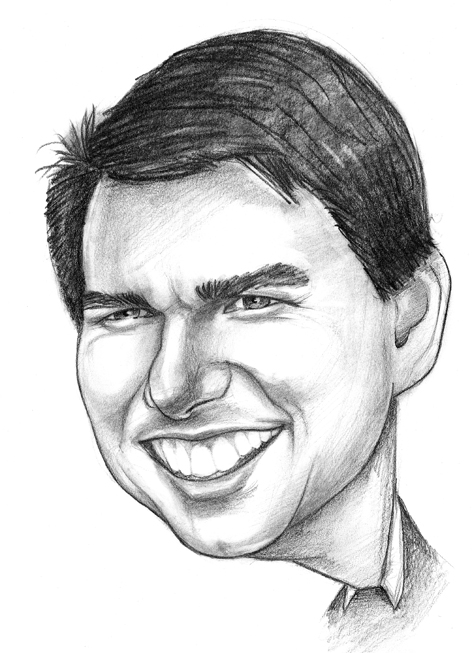 Karikatury Tom Cruise